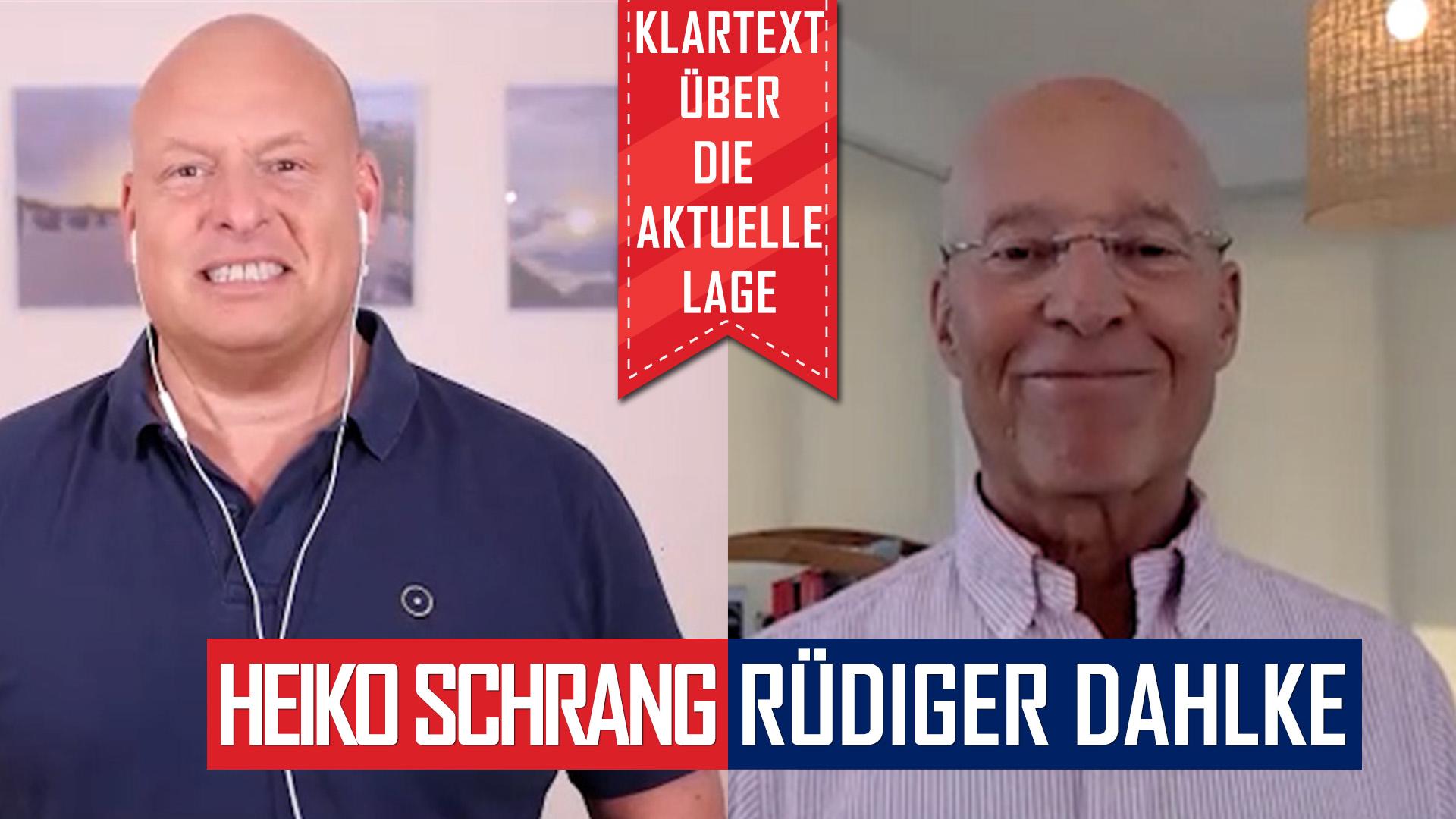 KLARTEXT: Dr. Rüdiger Dahlke über die aktuelle Corona-Situation!